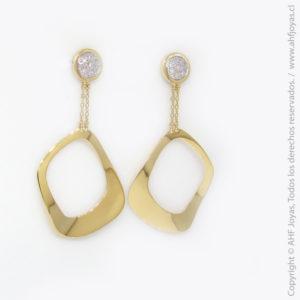 c582eef3a975 Aro de Oro Amarillo con Diamantes – AHF Joyas