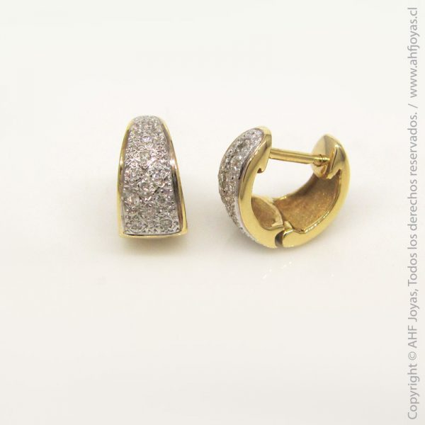 00246f5fc909 Aros de oro con diamantes – AHF Joyas